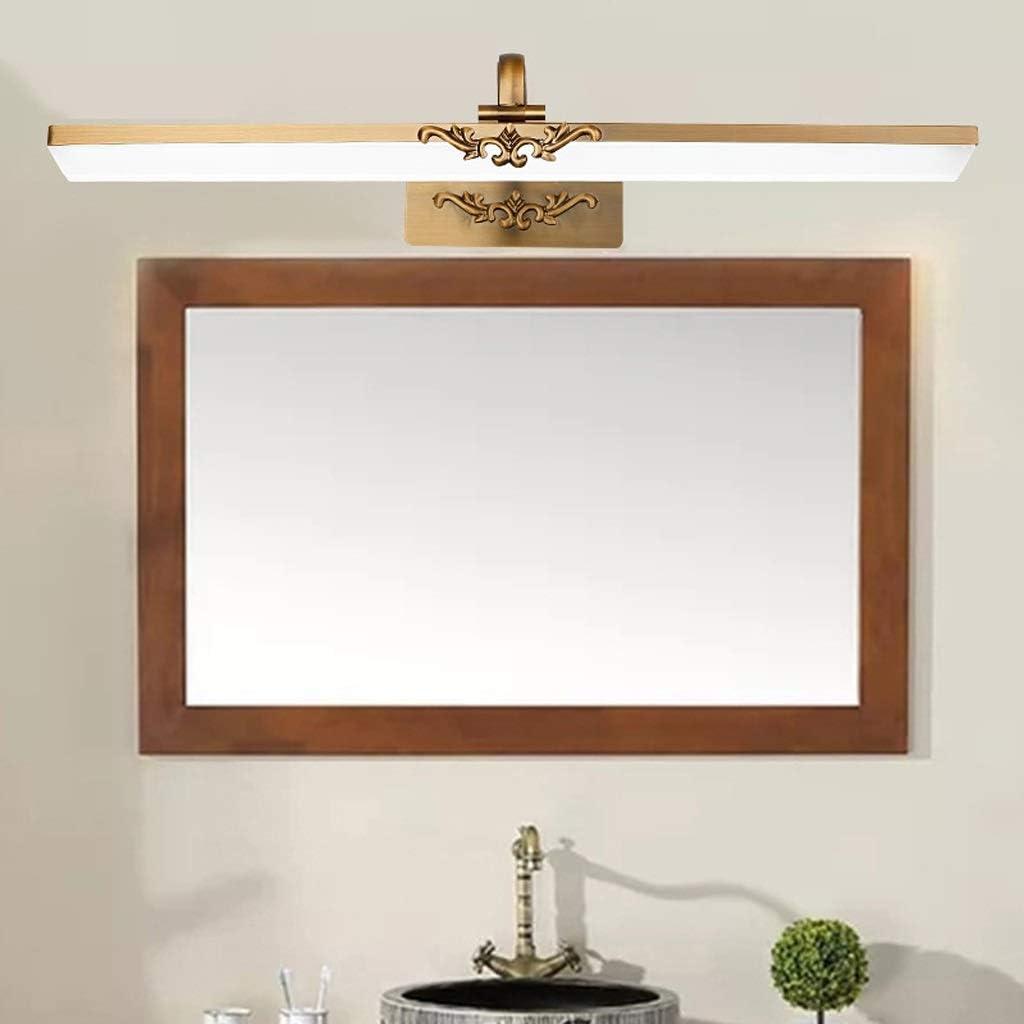 ,Spiegelleuchte LED Spiegel Scheinwerfer Bad Bad Bronze Spiegel European Mirror Cabinet Acryl Spiegel Scheinwerfer .Spiegellicht (Edition : Neutral light-71cm) Neutral Light-41cm