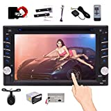 In Dash Car Stereo Bluetooth Headunit Double Din Car Radio Receiver with GPS