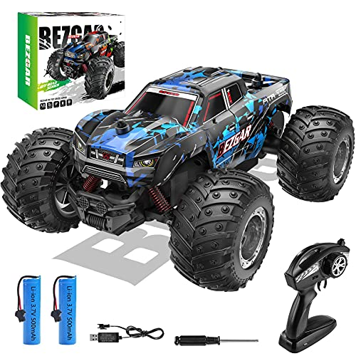 BEZGAR 20 Toy Grade 1:20 Scale Remote Control Car,2WD Top Speed 15 Km/h Electric Toy Off Road 2.4GHz...