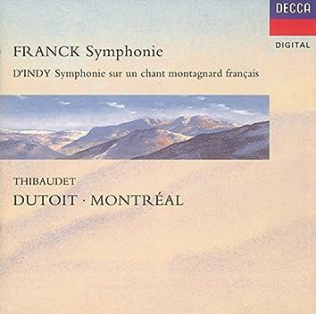 Franck: Symphony In D Minor/D'Indy: Symphonie Sur Un Chant Montagnard (''Symphonie Cévénole'')