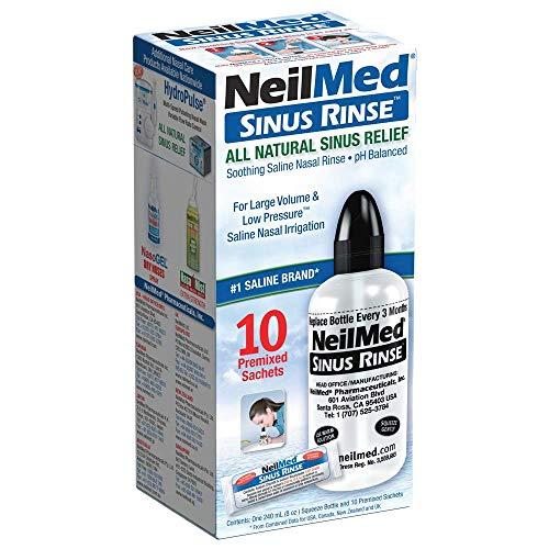 NeilMed Nebenhöhlenspülung Starter-Kit mit 15 Beutel, 1 Set