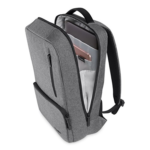 Belkin F8N900 Classic Pro Slim Backpack for 15.6 inch Laptop - Grey