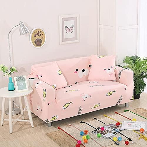 Funda de sofá elástica Funda de sofá Universal Suave Funda de sofá para decoración de Sala de Estar Funda de sofá Caliente Estilo decoración del hogar A27 3 plazas