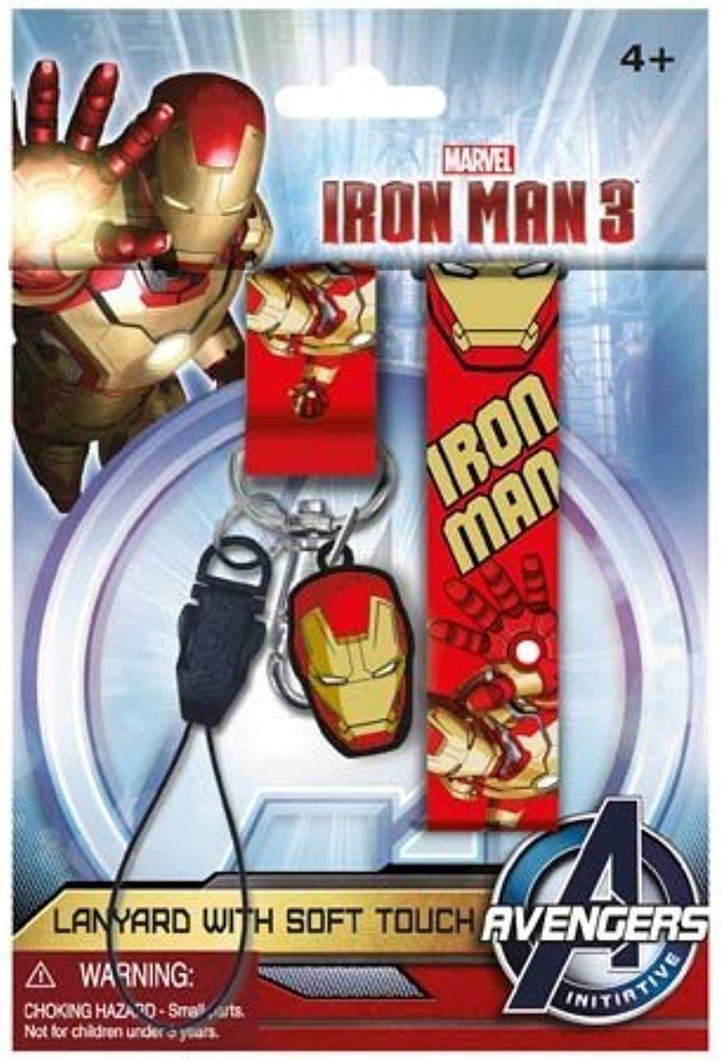 Marvel Iron Man 3 Lanyard with PVC Dangle by Marvel
