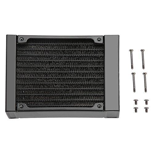 120mm PC Intercambiador de Calor de 12 Tubos de Aluminio de la computadora del Radiador de Calor para PC CPU Sistema de Enfriamiento de Agua