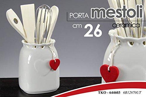 PORTA MESTOLI PORTAMESTOLI CM 26 IN CERAMICA