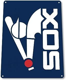 NGFD TIN Sign: B213 White Sox Tin Metal Sign 100030641881