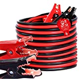 TOPDC Jumper Cables 4 Gauge 20 Feet Heavy Duty Booster Cables (4AWG x 20Ft)