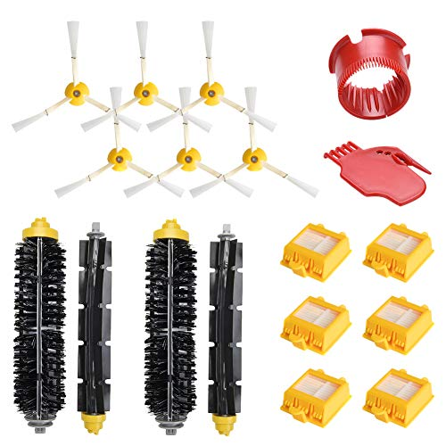 WEYO Kit de repuesto para iRobot Roomba 700 Series, accesorios de repuesto para 700 720 750 760 765 770 772 772e 774 775 776 776p 780 782 782e 785 786 786p 790 Robot aspirador 8 piezas