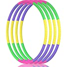2Buyshop Hoola Hoop for Kids, Size Adjustable & Detachable Length Hoola Hoop Plastic Toys for Kids Adults Party Games, Gymnastics, Dog Agility Equipment, Thanksgiving, Christmas Decor