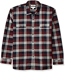This weekend-perfect casual button-front shirt in plaid herringbone fabric is made in our Signature Tumbled Cotton for a soft, yet sturdy, hand We utilize a unique Heritage Wash to give our garments a custom, lived-in feel right away Features a round...