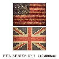 ラグ BEL RUG NO.1 140x200 ラグ 絨毯 じゅうたん カーペット TypeB