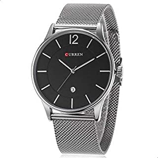 Curren Men's Analog Stainless Steel Watch 8231