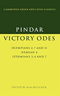 Pindar: Victory Odes: Olympians 2, 7 and 11; Nemean 4; Isthmians 3, 4 and 7