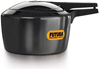 Hawkins Futura Hard Anodised Aluminum Pressure Cooker 3 Litre Black