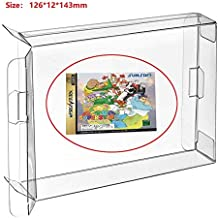 Childhood 10Pcs Clear Protective Sleeve Box Case CD Display Protector for PS 1 Sega Dream cast Saturn Single CD Box Case