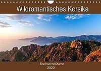 Wildromatisches Korsika (Wandkalender 2022 DIN A4 quer): Korsika - die bergig gruene Insel Frankreichs (Geburtstagskalender, 14 Seiten )
