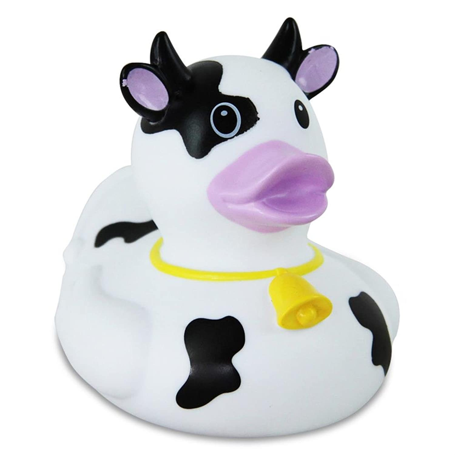 Rubber Duck Black and White Cow - ゴム製のアヒル …