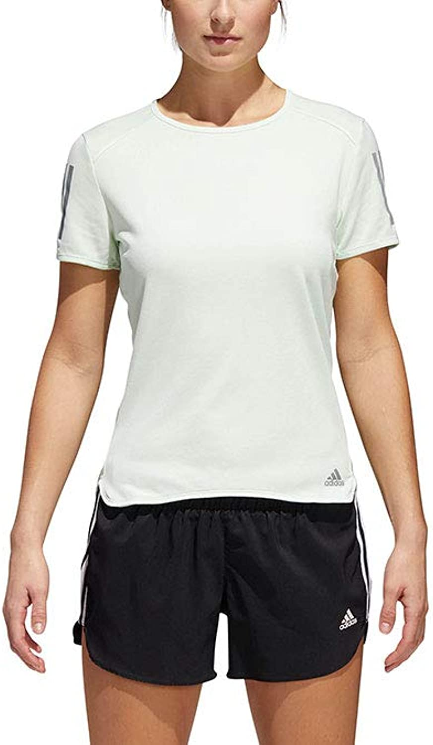 Adidas Women's Response Short Sleeve Tee Aero Green Small
