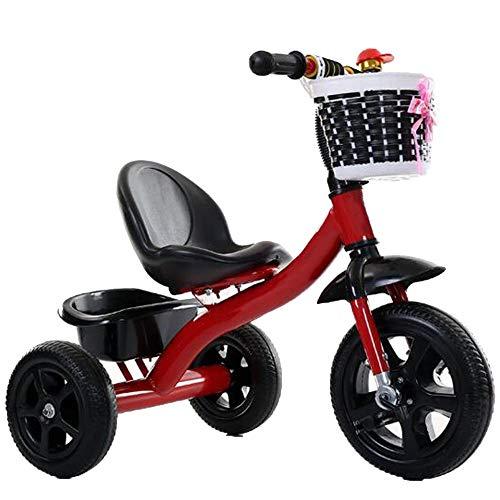 YumEIGE driewieler kinderen driewieler luchtbanden gewicht 80 kg 1-6 jaar oud verjaardag kinderen cadeau kleine kinderen