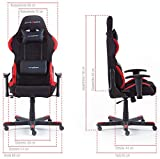 Robas Lund OH/FD01/NR DX Racer 1 Gaming-/ Schreibtisch-/ Bürostuhl - 6