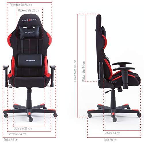 DX Racer 1 Gaming Stuhl (62501SR4) - 6