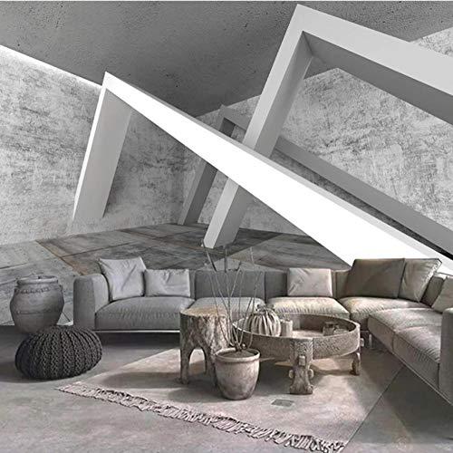 Simplicidad moderna personalizada Papel tapiz 3D pared gris cemento pared fondo arquitectónico sala de estar sofá dormitorio papel tapiz mural Decoración hogareña
