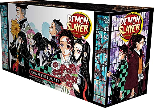 Demon Slayer Complete Box Set: Includes volumes 1-23 with...
