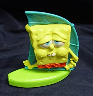 2012 Spongebob Squarepants Sailboat Figure Spongebob Figure Sailboat Mcdonalds
