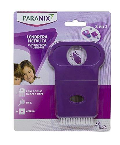 PARANIX - Peigne anti-poux 3 en 1