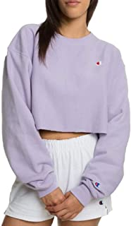 Life Women's Cropped Cut-Off Crew Top