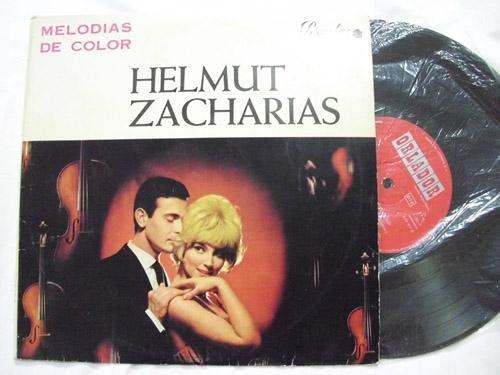 Antiguo Disco Vinilo - Old Vinyl Disc : MELODÍAS DE COLOR - Helmut Zacharias y su Orquesta