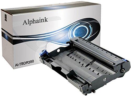 Alphaink Drum DR-2000 Tamburo compatibile per Brother DR2000, HL2020, HL2030, HL2035, HL2040, HL2050, HL2070N, DCP7010, DCP7010L, DCP7020, DCP7025, MFC7225N, MFC7420, MFC7820, FAX2820, FAX2825, FAX2910, FAX2920, 12000 copie al 5% di Copertura