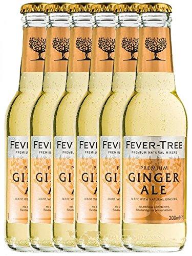 Fever Tree Ginger Ale 6 x 0,2 Liter