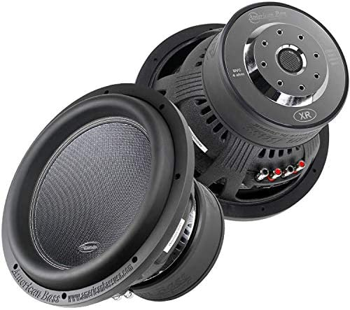2 Pack American Bass XR 12D4 12 Subwoofers Dual 4 Ohm 2400W Max 200 Oz Magnet product image