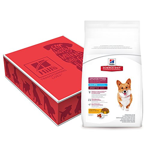 Hill'S Science Diet Adult Advanced Fitness Small Bites Chicken & Barley Recipe Dry Dog Food