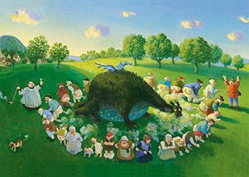Postkarte A6 • 15085 ''Pupskonzert'' von Inkognito • Künstler: Michael Sowa • Satire • Kinder/Märchen • Fantastik