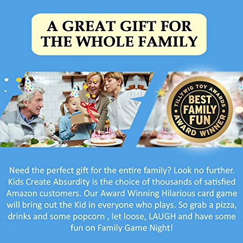 Kids Create Absurdity-A Silly Fill...