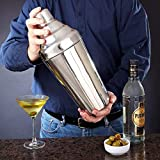 NanXi Cocktail Shaker, Large Cocktail Shaker Extra Large 61oz - 1.8L - 304 Stainless Steel Cocktail Shaker