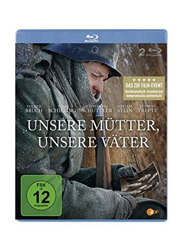 Unsere Mütter, unsere Väter [Blu-Ray] [2 BDs] [Alemania]