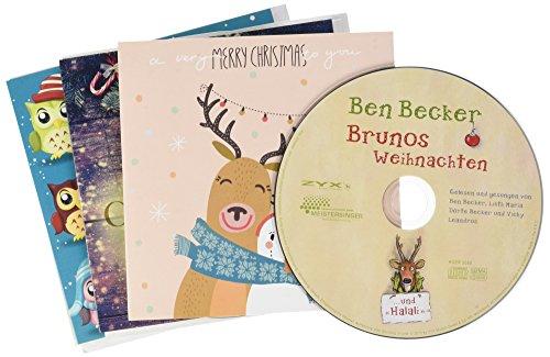 Weihnachtskarten 5er-Pack