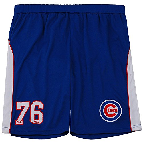 Majestic Chicago Cubs Pickering Mesh MLB Shorts Blau M