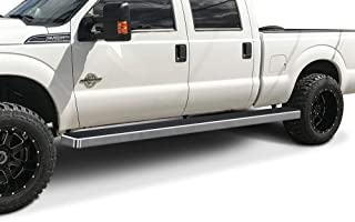 APS Wheel to Wheel Running Boards 6 inches Custom Fit 1999-2016 Ford F250 F350 Super Duty Crew Cab Pickup 5.5ft Short Bed (Nerf Bars Side Steps Side Bars)