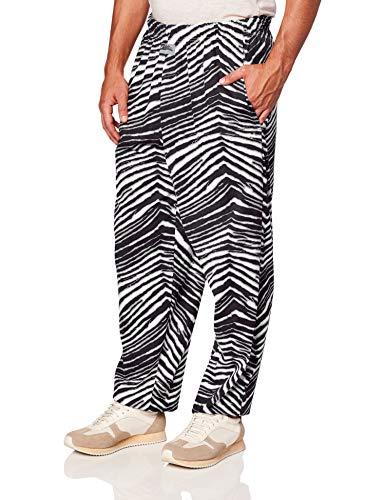 Men's Classic Zebra Print Baggy Lounge Pants