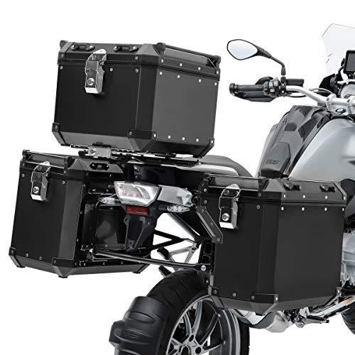 Set Maletas Aluminio ADX130B para BMW R 1200 GS Rallye 17-18 + baul + Soporte
