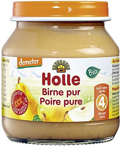 Holle Bio Birne pur mit Reis (6 x 125 gr)