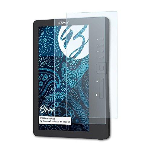Bruni Schutzfolie kompatibel mit Trekstor eBook-Reader 3.0 (Weltbild) Folie, glasklare Displayschutzfolie (2X)