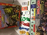 Monopoly Junior~ Shrek 2~Made in the U.S.A~ Die made in China~