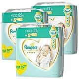 【テープ 新生児サイズ】パンパース オムツ はじめての肌へのいちばん (5kgまで) 270枚(90枚×3パック) [ケース品] 【Amazon限定品】