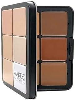 MAKE OVER 22 Foundation Palette creme-12 Shades